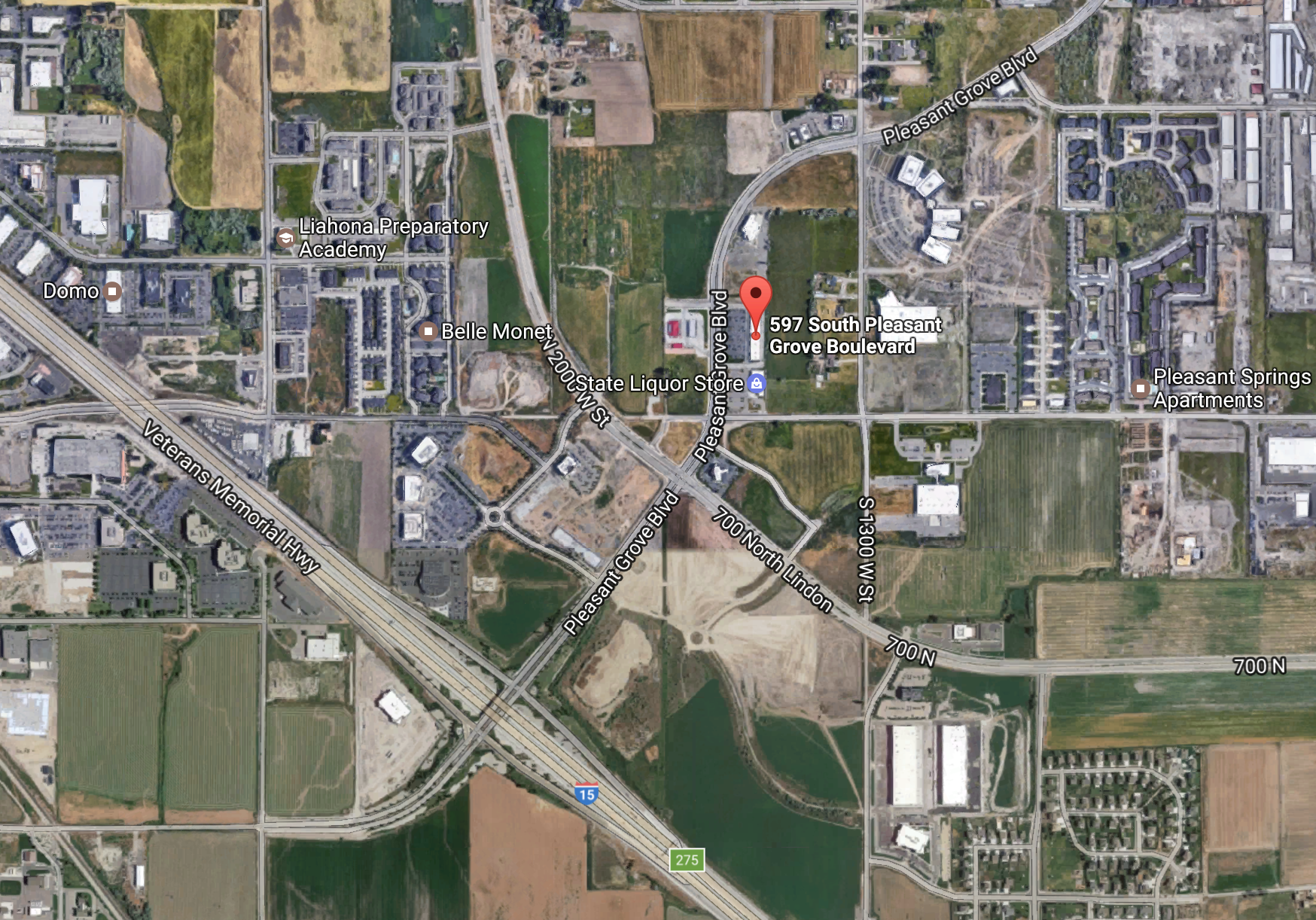 Your Own Studio is located right off I-15 in Pleasant Grove, UT.