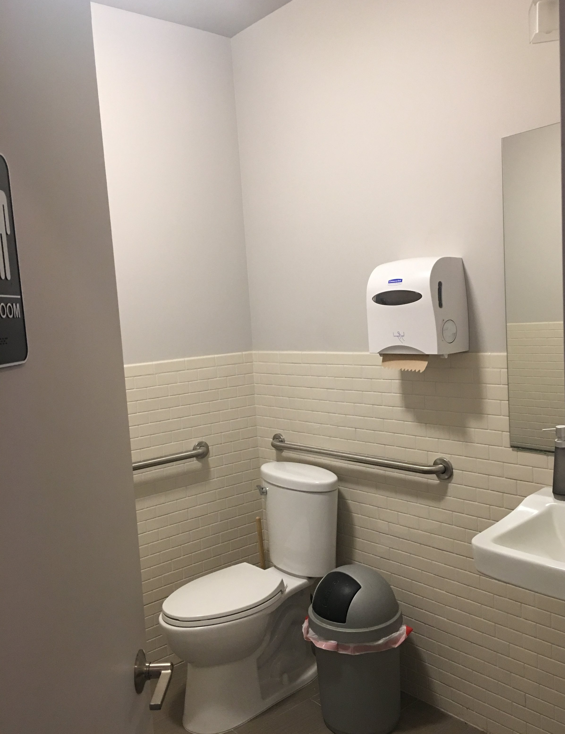 Your Own Studio has a bathroom! It might come in handy...