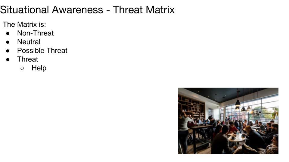 Threat Matrix p 2