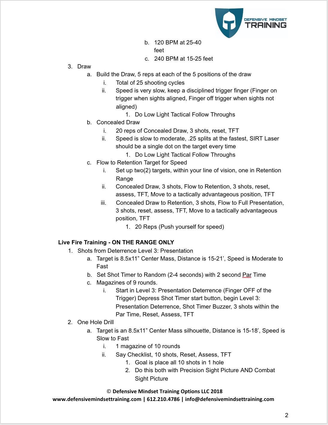 Low Light - Front Lit - Homework p 2