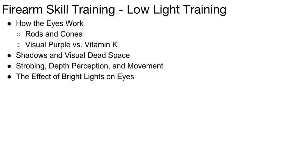 Low Light - Front Lit p 1