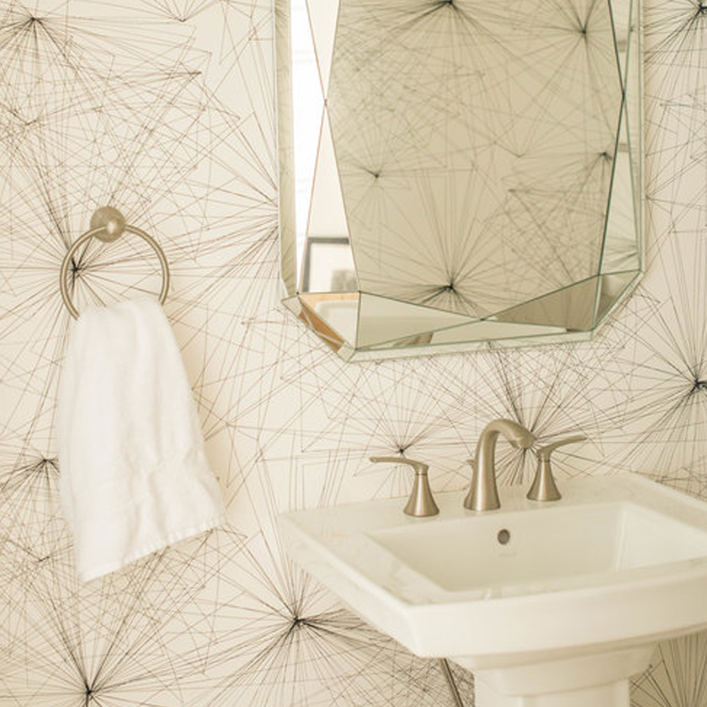 Voyageur in Snowscapes Colorway - Modern Bathroom