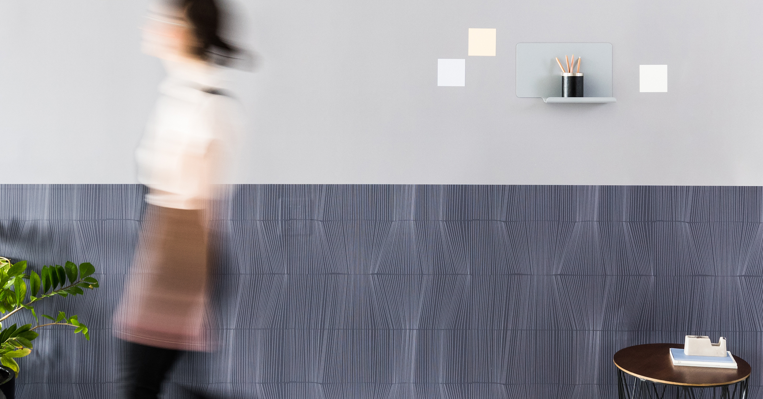 """FORCES"" MAGNETIC AWARD-WINNING WALLCOVERING COLLECTION FOR VISUAL MAGNETICS"