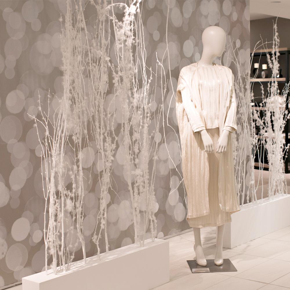Bergdorf Goodman Winter Holiday Display