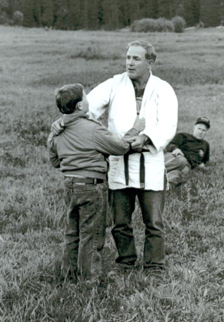 Russ Gibson giving a Judo lesson.jpg