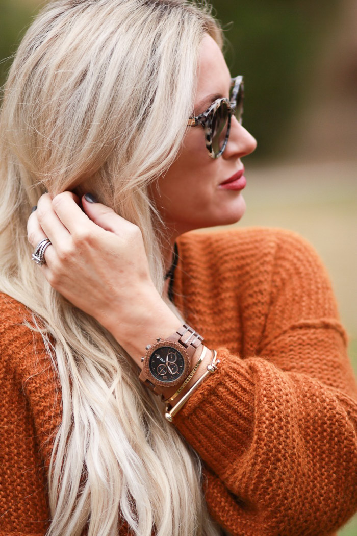 Live Love Blank JORD Wood Watches Mens Womens