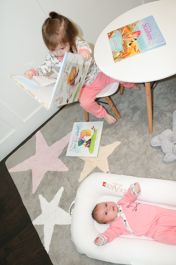 Live Love Blank Nursery Design with Lorena Canal Rugs and Jammie talk with Finn & Emma star rug, zebra matching jammies for toddler and infant organic eco friendly, pajamas obsessed pjs girl mom matching girl jammies coordinating pajamas