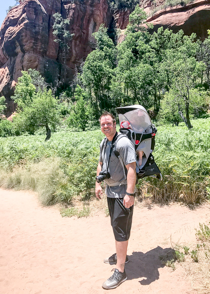 Live Love Blank Instagram Favorites Round Up and Recap June 2017 Osprey hiking sedona west fork trail, best hiking, scenic trail sedona arizona, baby carrier toddler carrier
