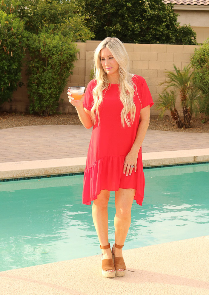 Live Love Blank Ocean Spray® Mocktails and Summer BBQs with family