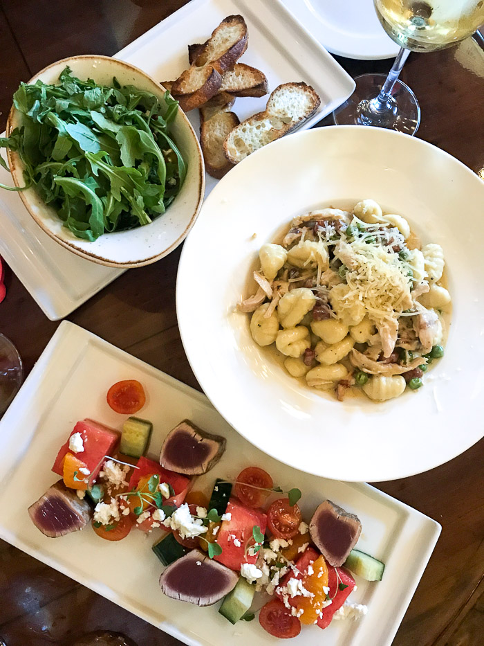 Live Love Blank Napa Valley with Children and The Meritage Resort and Spa Dining In
