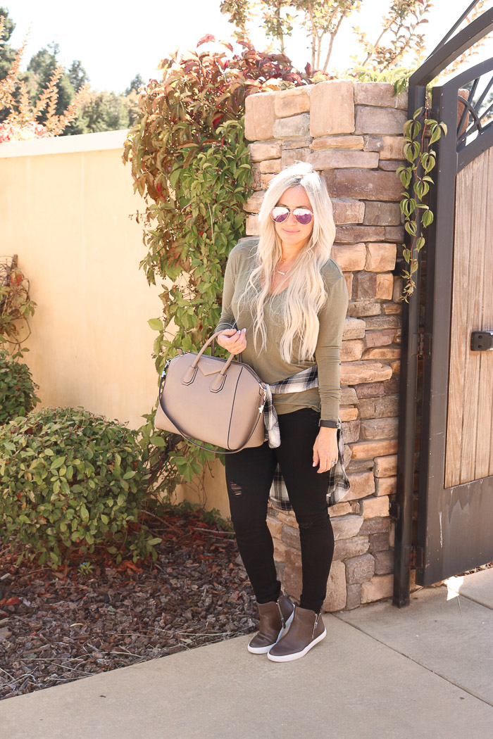 Travel style...cozy and getting to actually wear layers!!