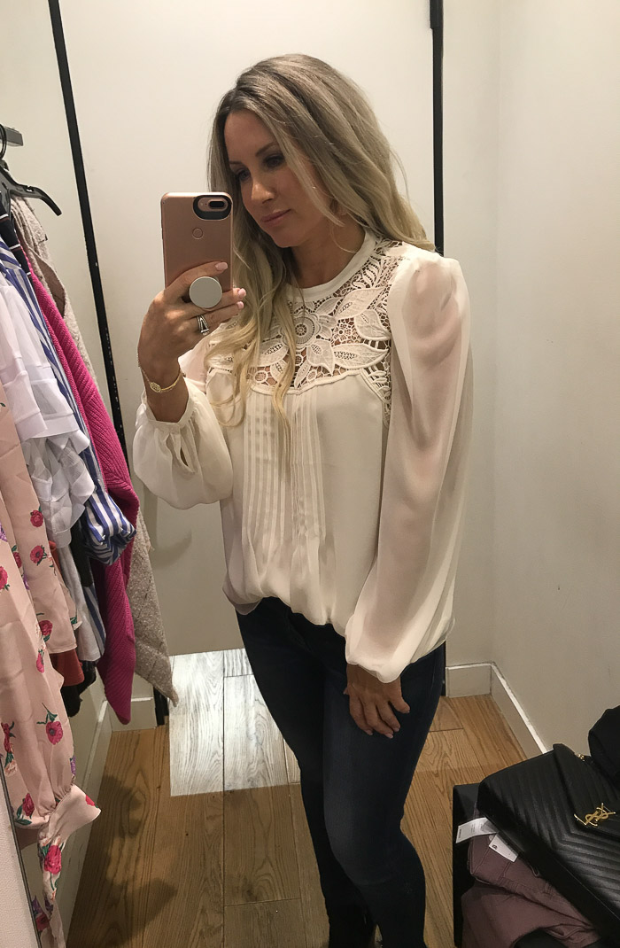 Live Love Blank Try On session Series With Express Clothing Fall Styles