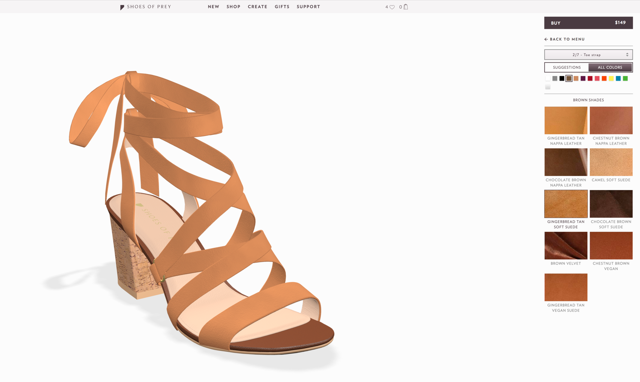 Live Love Blank Designing Custom Shoes with Shoes Of Prey