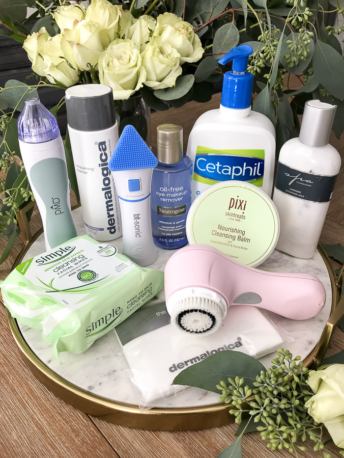 Live Love Blank Favorite Cleansers and Cleansing Tools for Sensitive Skin and/or Rosacea