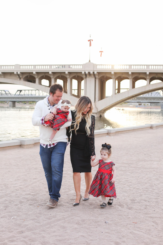 Live Love Blank Holiday Family Photos Photoshoot December 2017 Merry Christmas