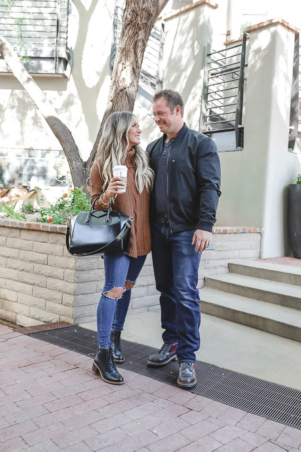 Live Love Blank, Fashion Lifestyle Blogger, The 5 Things We Do To Keep Our Marriage a Priority, Post Children, and How We Stay Connected and Madly in Love  Zappos and Clark Boots His and Hers