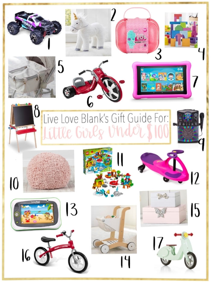Live Love Blank liveloveblank.com Little Girls Gift Guide Holiday 2018 Girls 6 and under, style blogger mom blog, mom blogger