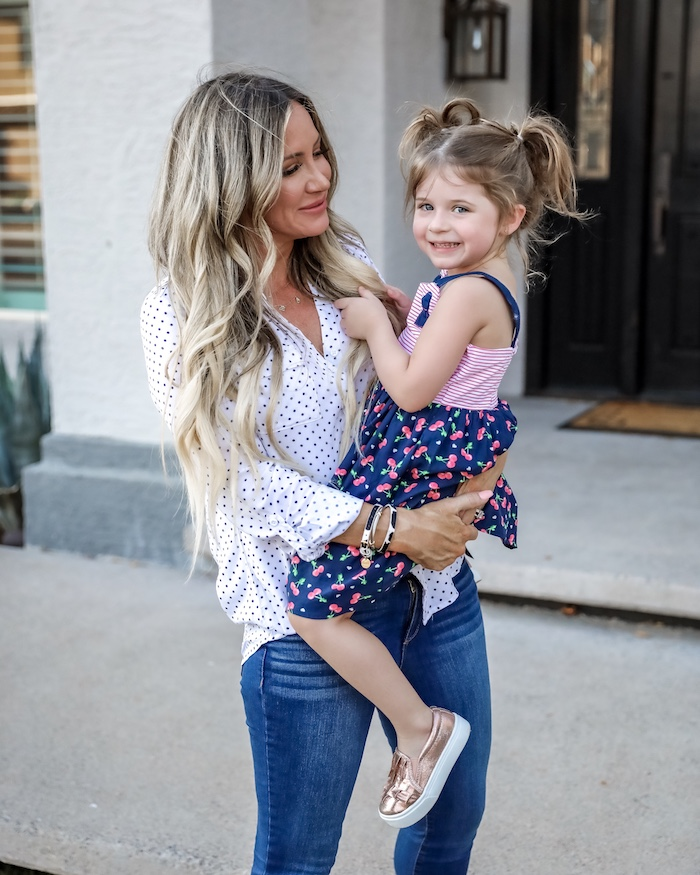 Walmart back to school kids fashion, outfit ideas, Liveloveblank.com, Live Love Blank fashion blogger, Instagram Recap and OOTD week ending 4/26/19, style blogger, mom style, Scottsdale, Arizona, Outfit of the Day, OOTD