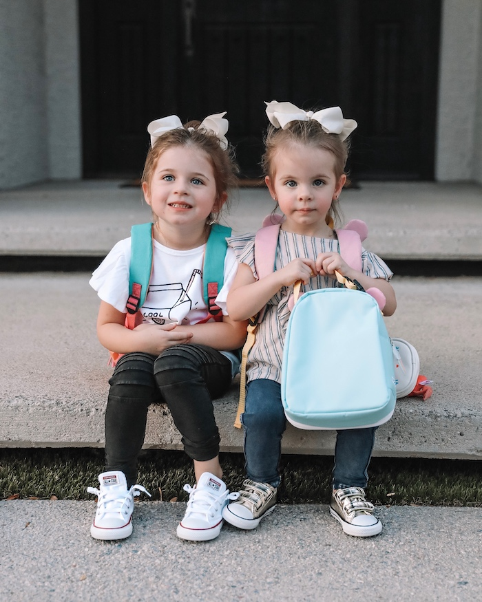 Back to School For Kids With Nordstrom And Grayson Is Starting Preschool Grayson and Hartley Blank, live love blank, liveloveblank.com, mom blogger, style blog, om blog, style blog, tucker and tate tuker & tate, converse kids clothing, fashion, adidas superstar shoes for kids , nordy nordstrom kids, leopard print dress, cool mom style, scottsdale, Arizona