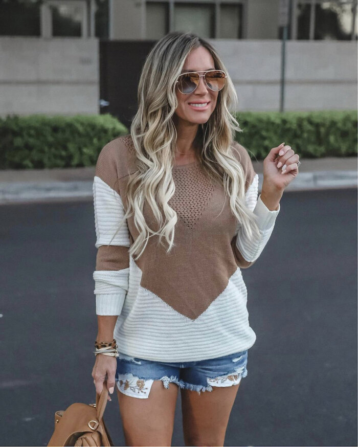 Early Fall Fashion look featured by top US fashion blog,  Live Love Blank
