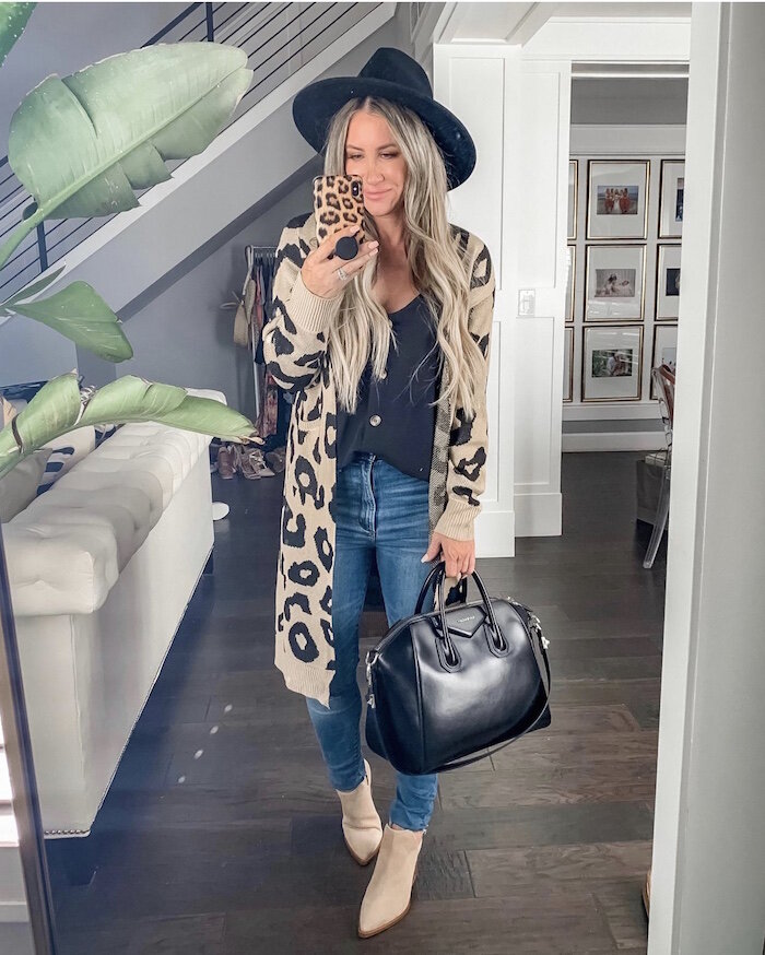 Fall Fashion outfit featured by top US fashion blog,  Live Love Blank