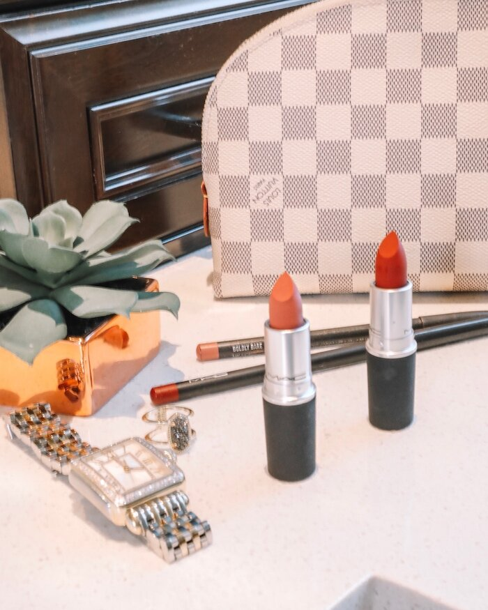 Fall Lipstick from Nordstrom featured by top US life and style blog, Live Love Blank