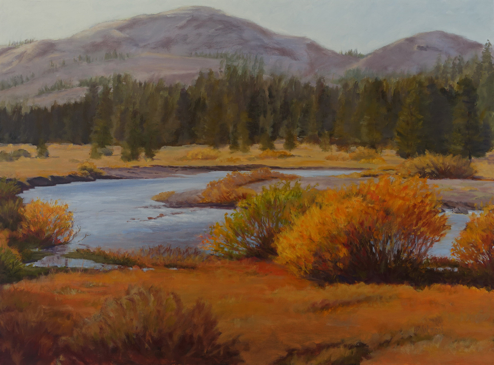 Tuolumne Meadows, 30 x 40 inches