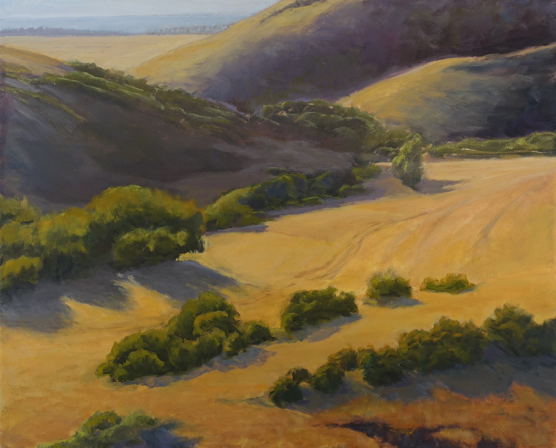 Coastal Range Big Sur, 24 x 30 inches