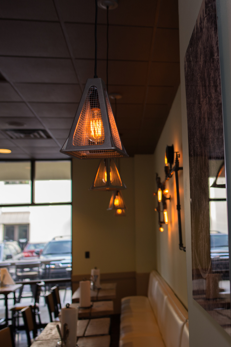Wire Mesh Jack Pendants | On Forty-One | Mt. Pleasant, SC