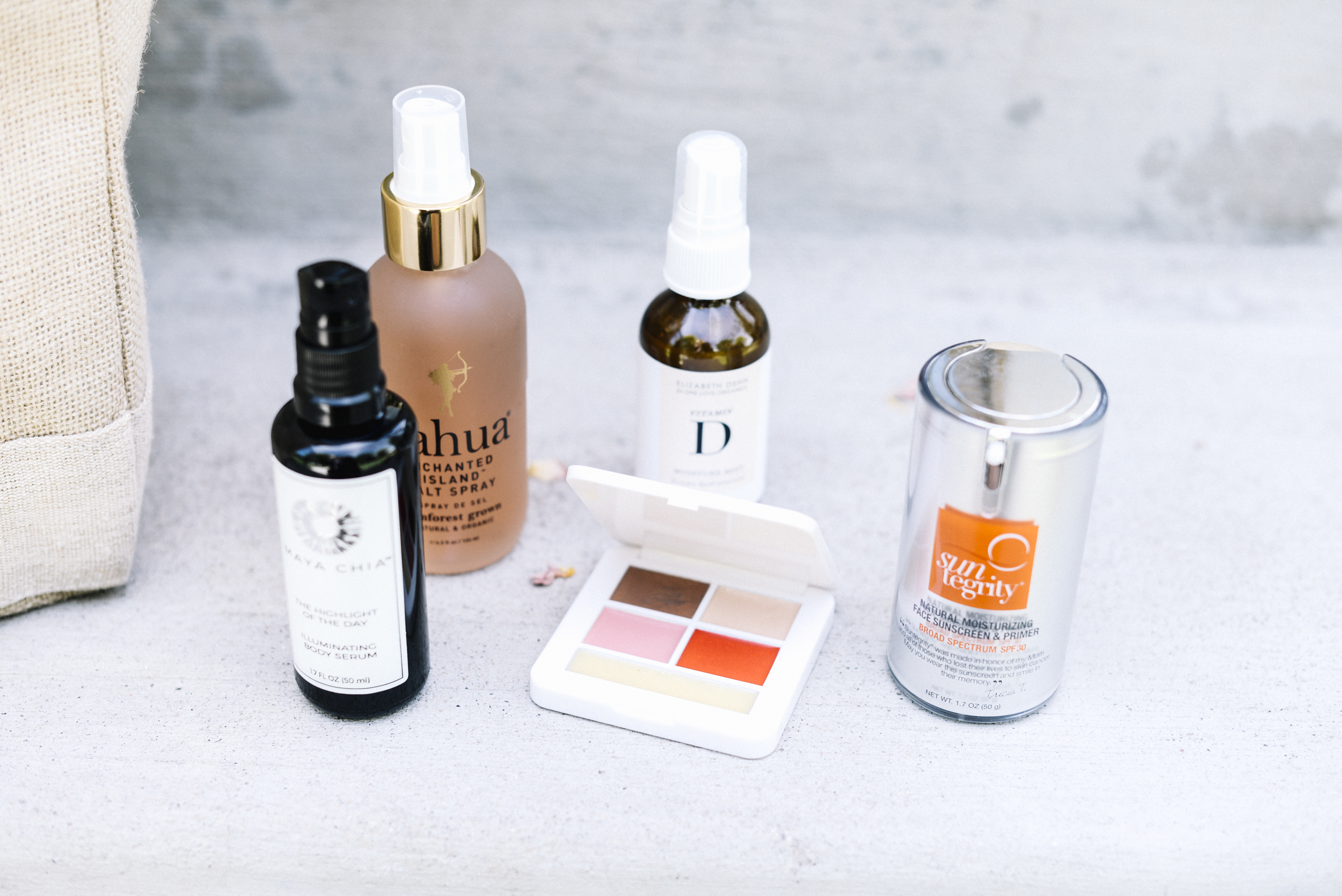 Natalie Uhling reviews summer beauty products 2017
