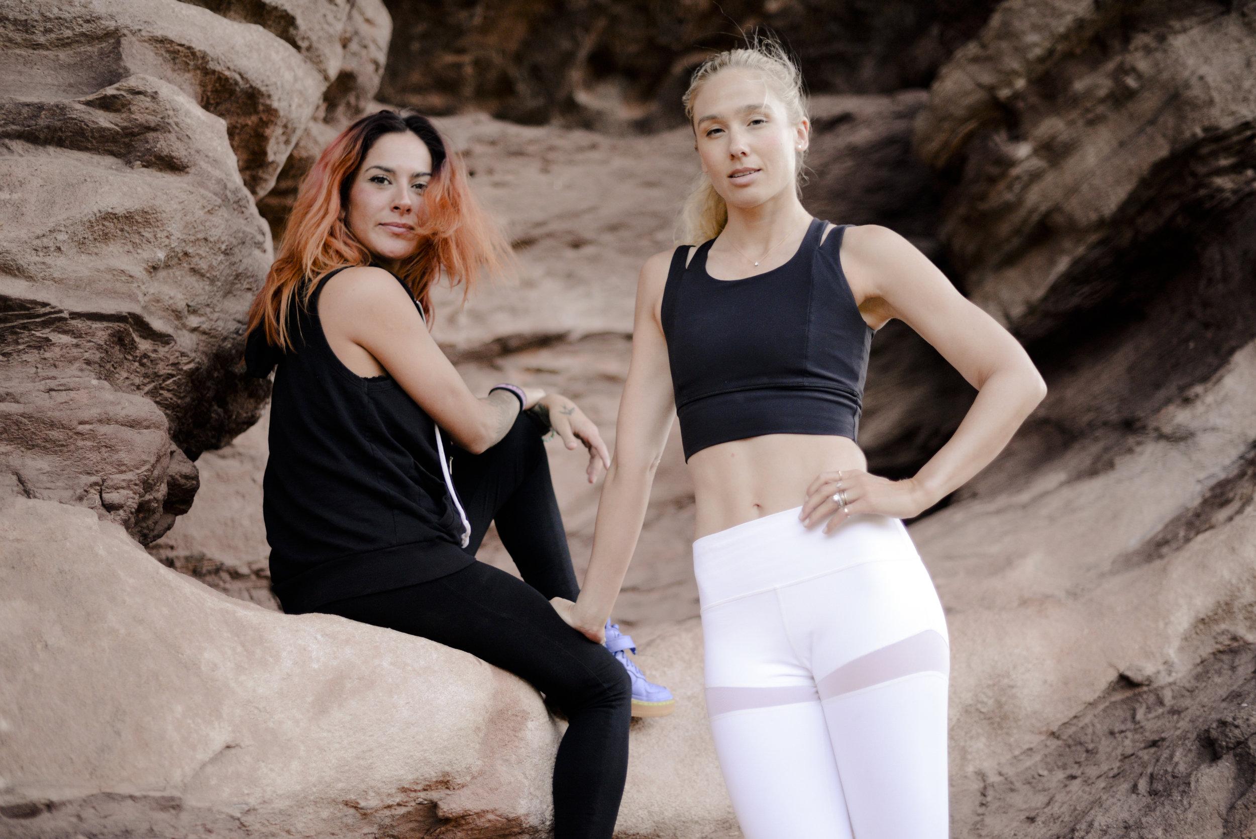 Natalie and DJ Skeena Fitness on the Rocks 2017