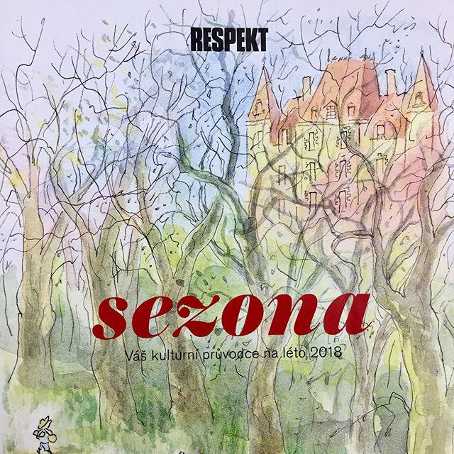 Podle @respektcz by jste nás měli v létě navštívit. Dostali jsme nálepku regionální hipsteři. Takže respekt! #ztracena32 #mimokolektiv #mimoolomouc #respekt #regionalnihipster #olomouc