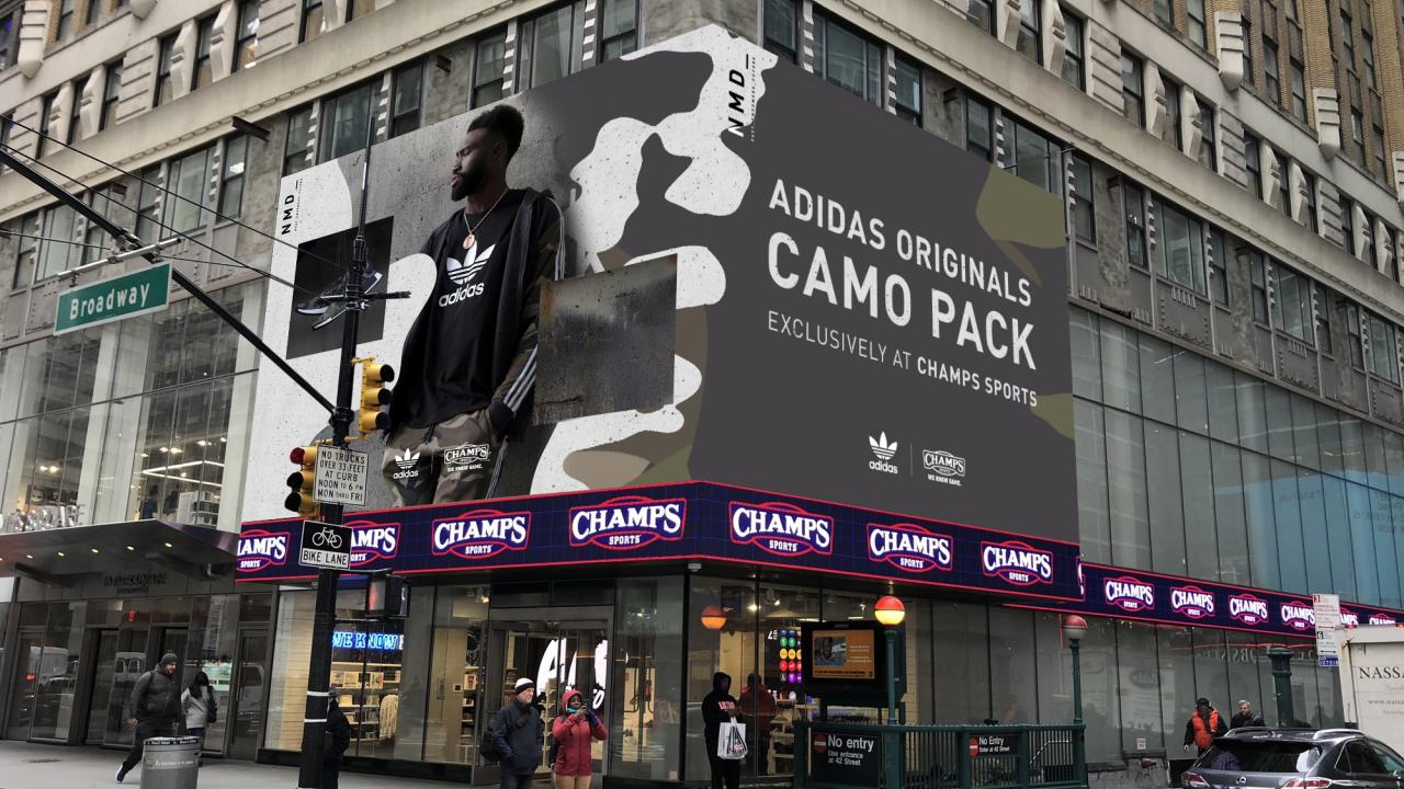 Adidas NMD Camo Campaign - Animation