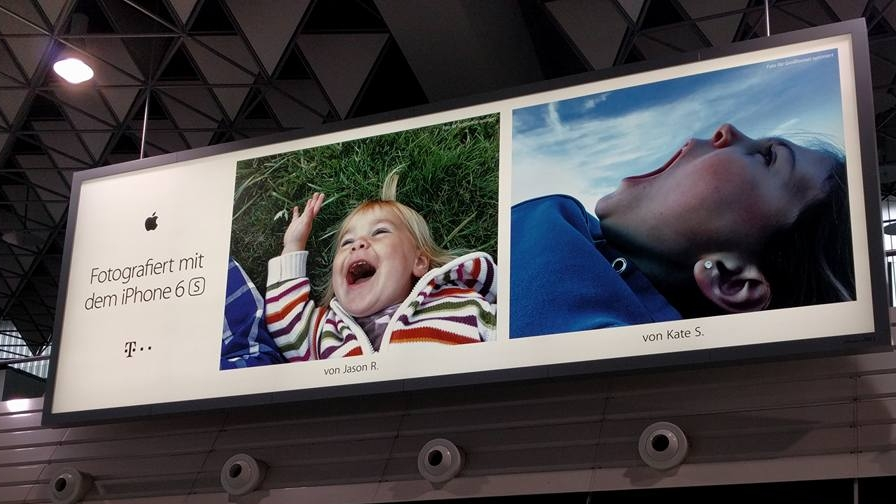 Frankfurt, Germany Airport (photo by  Joe English )