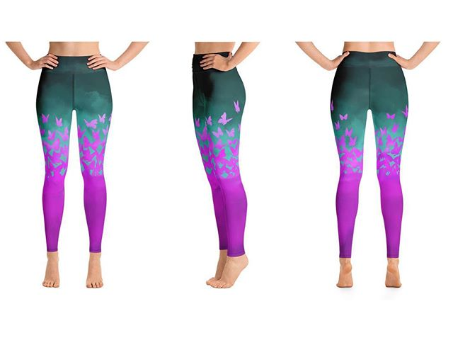Over the past couple years on occasion I design custom leggings.  Sometimes it can take a long time to get to a final look that I am pleased with. . . This particular client gave me quite a bit of artistic freedom and simply requested butterflies. . . I lost track of how many hours and versions I drew up.  The new owner is stoked and that's all I'm really aiming for. . . If you're interested in a custom pair DM me or shoot me an email. (Email in profile) . . #yoga #yogaleggings #yogaart #leggings #leggingsale #climbing #climbinglife #acroyoga #pnw #pnwonderland #yogapants #yogaoutfit #yogaclothes #yogagear