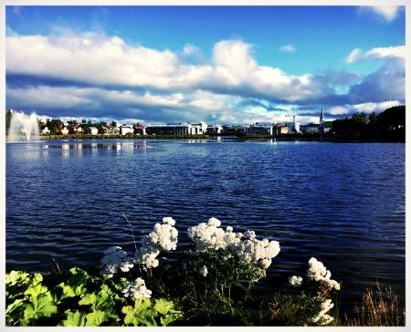Il parco col lago
