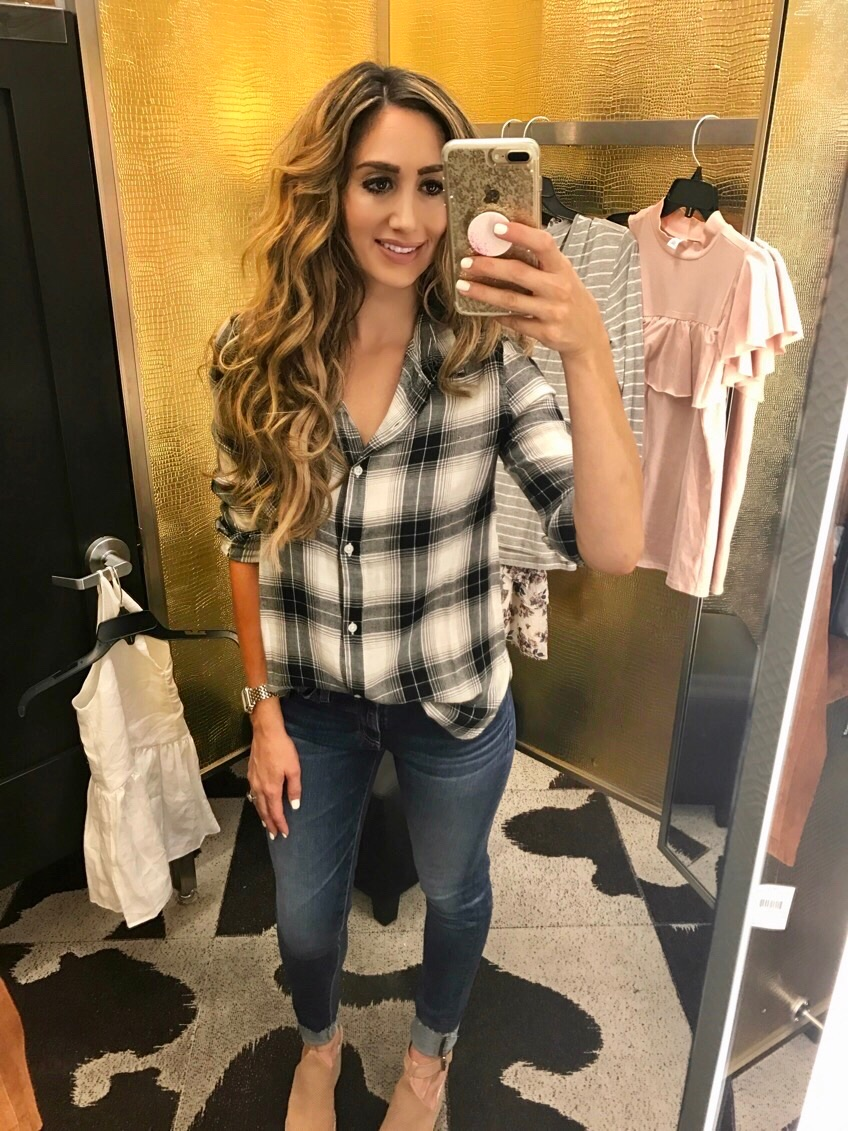 Top Small, Jeans 26, Shoes (not included on sale) 7.5