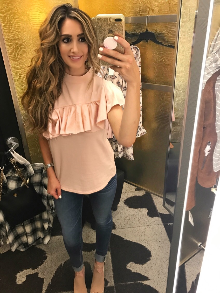 Top S , Jeans 26, Shoes (not included on sale) 7.5,Bag one size fits all