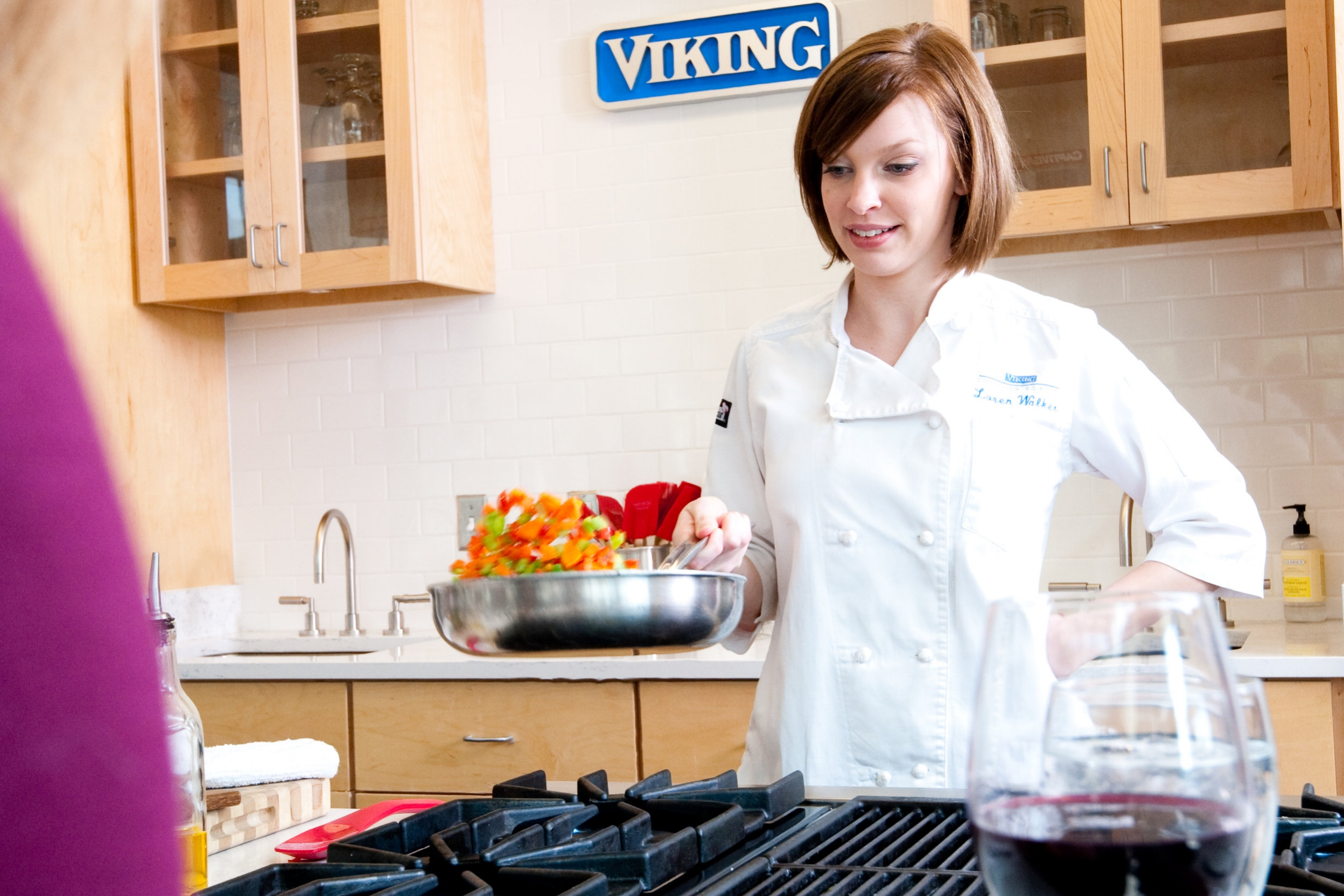 Viking Cooking School - The Viking Cooking School may be the most enjoyable school on earth - even the homework is fun.