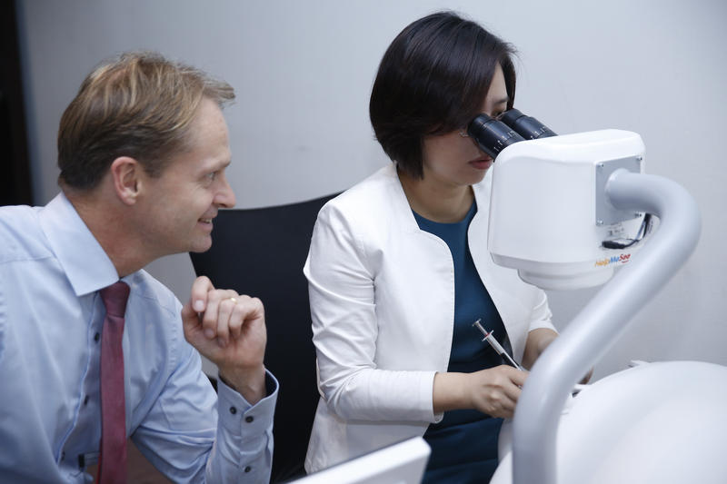 OCTOBER   China  -  First public demo  of the HelpMeSee Eye Surgery Simulator