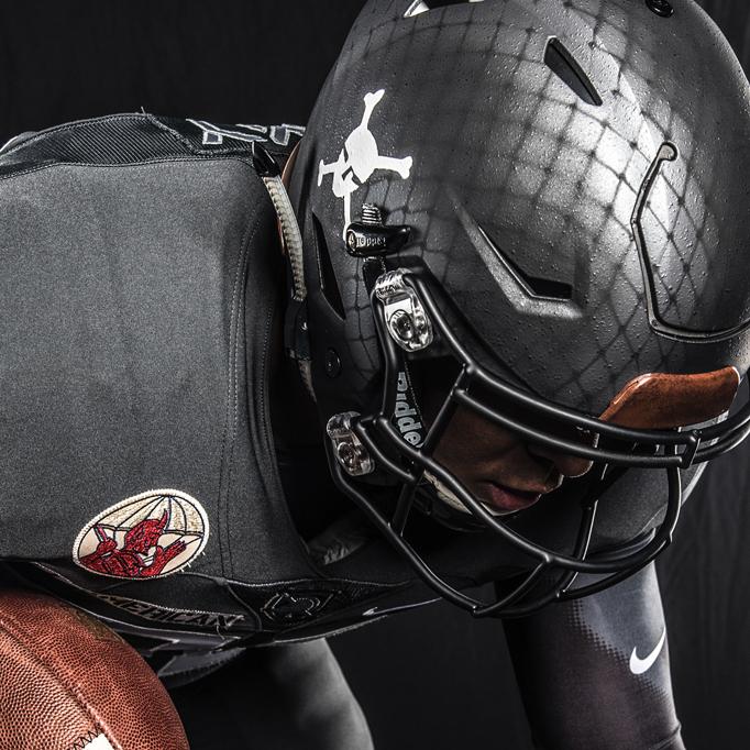 Army Navy Game Uniform Helmet Design