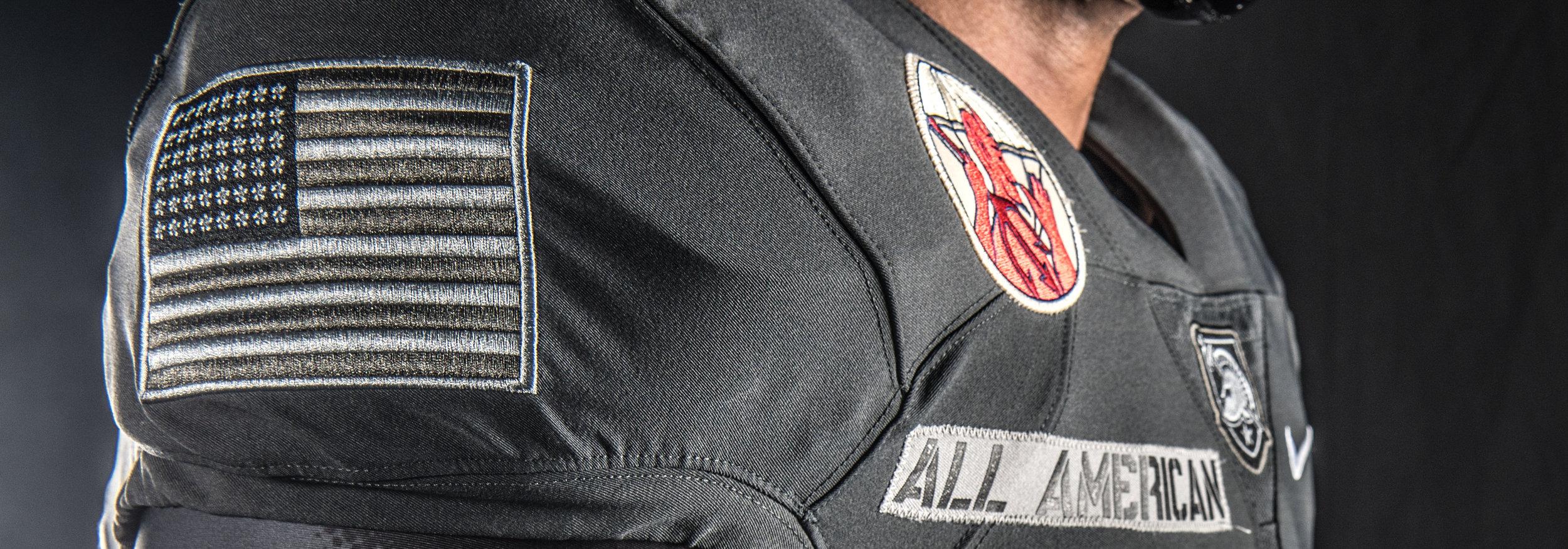 Army Uniform 2016 Flag