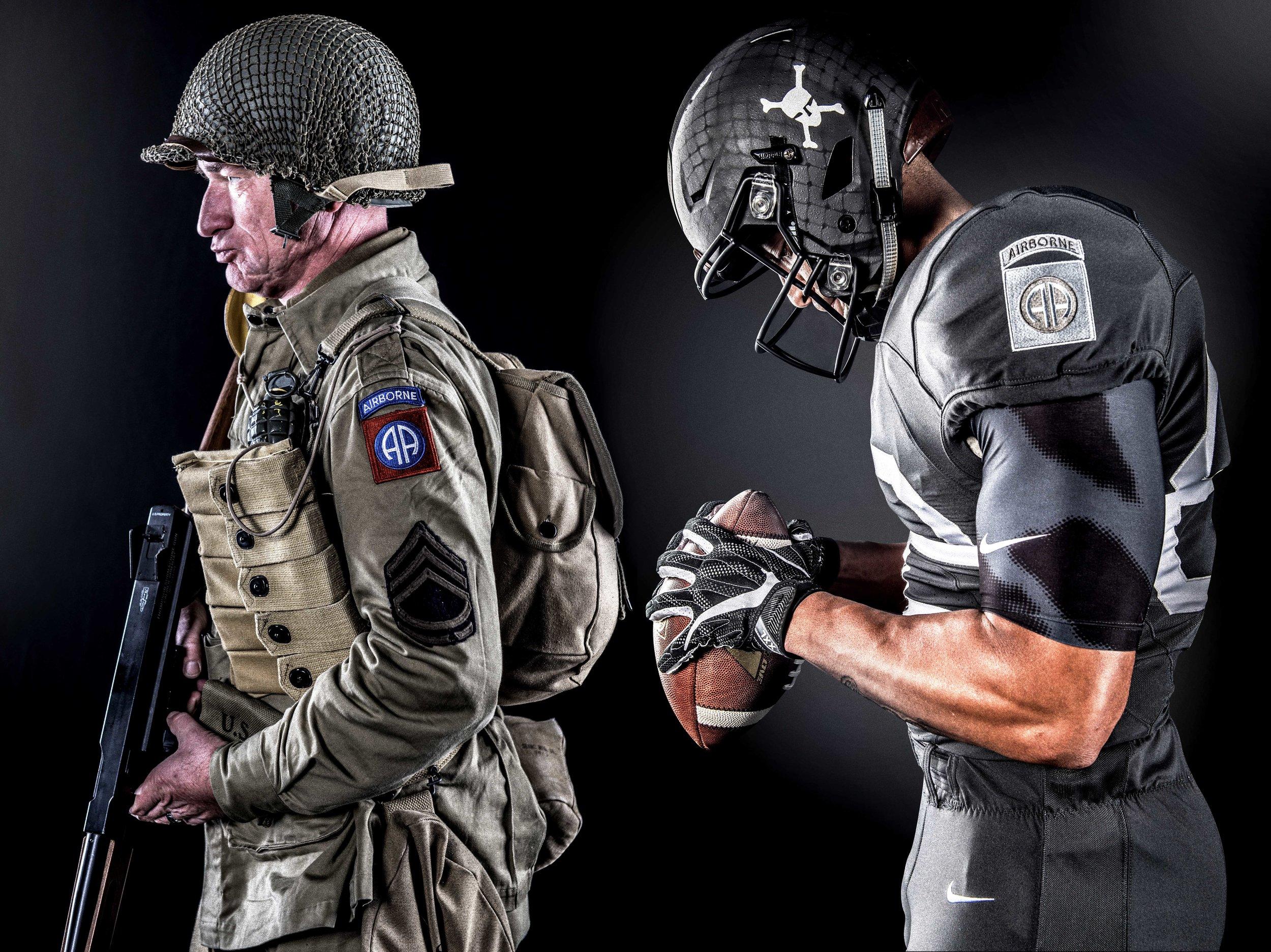 Army-Navy Game Uniform - Paratrooper Design