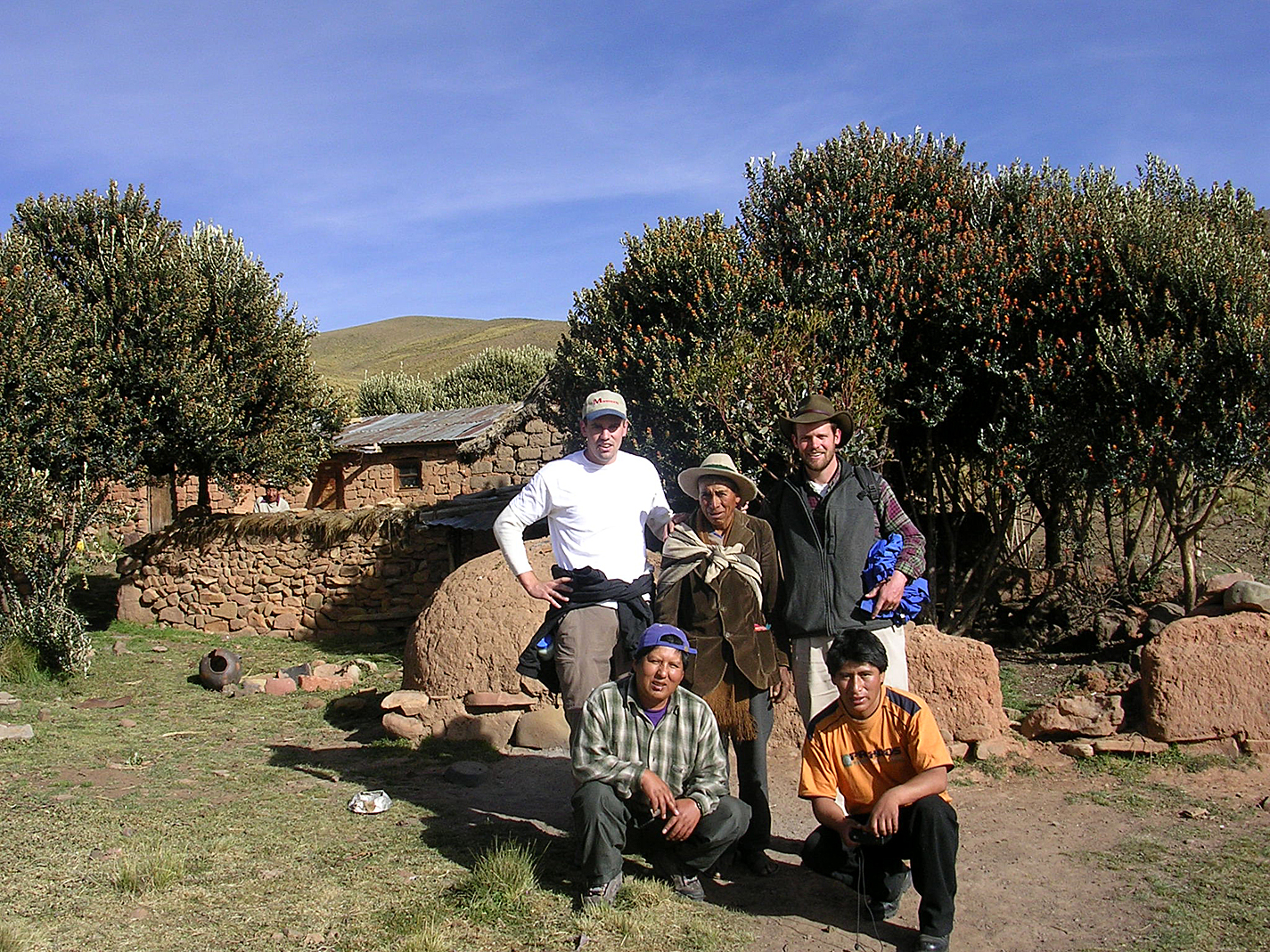 Huacallaya during initial site visit May 04.JPG