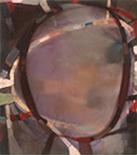 Gradual Motet 14 1999, 16x14, Oil on Linen