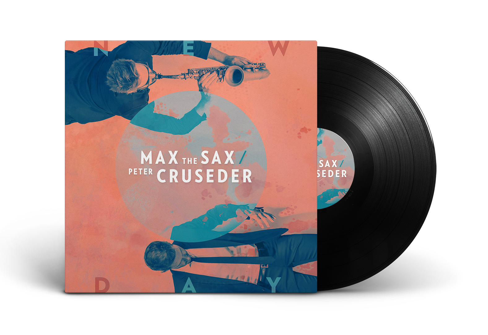 Max the Sax New Day Cover