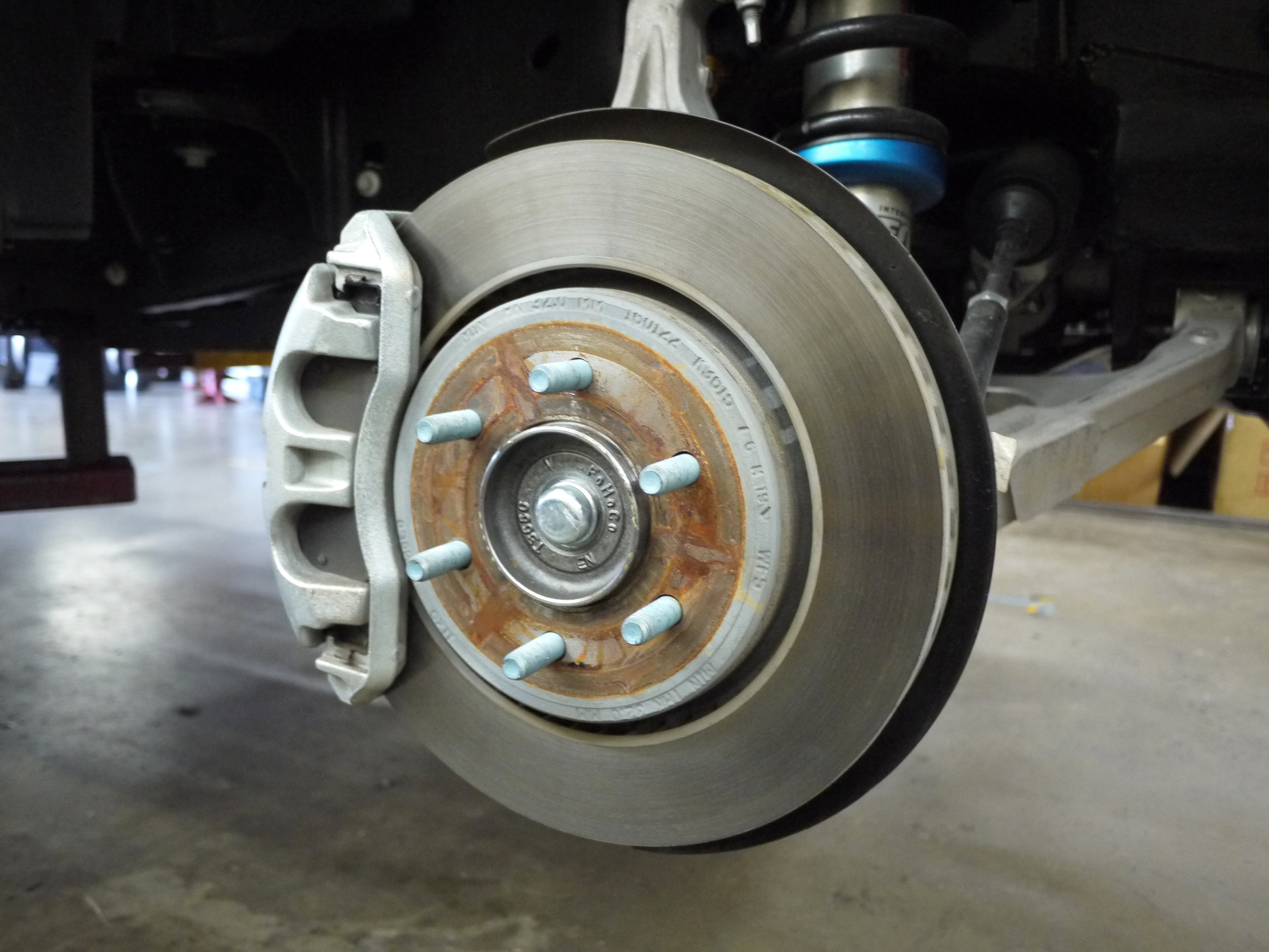 Ford F150 Raptor OE front brakes / Photo Credit: EXQUIS