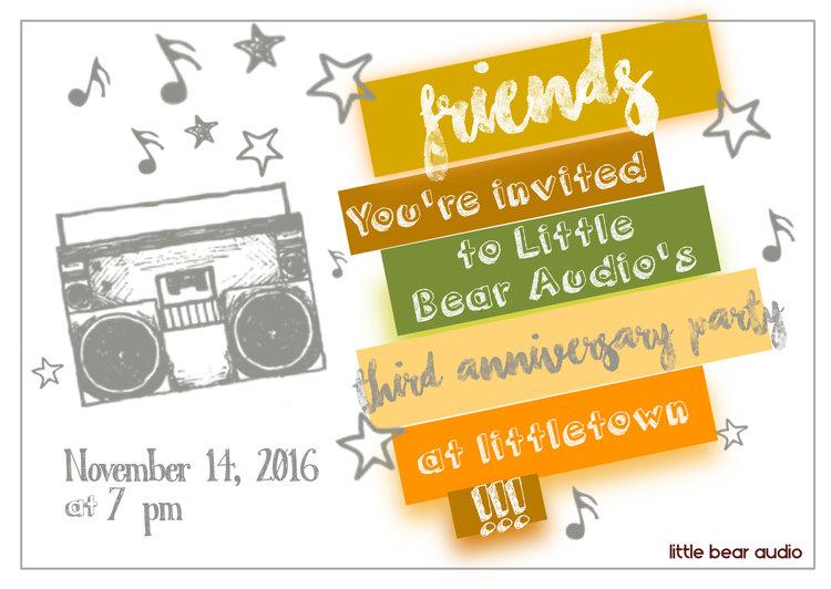 2016 Annual Party Invitation