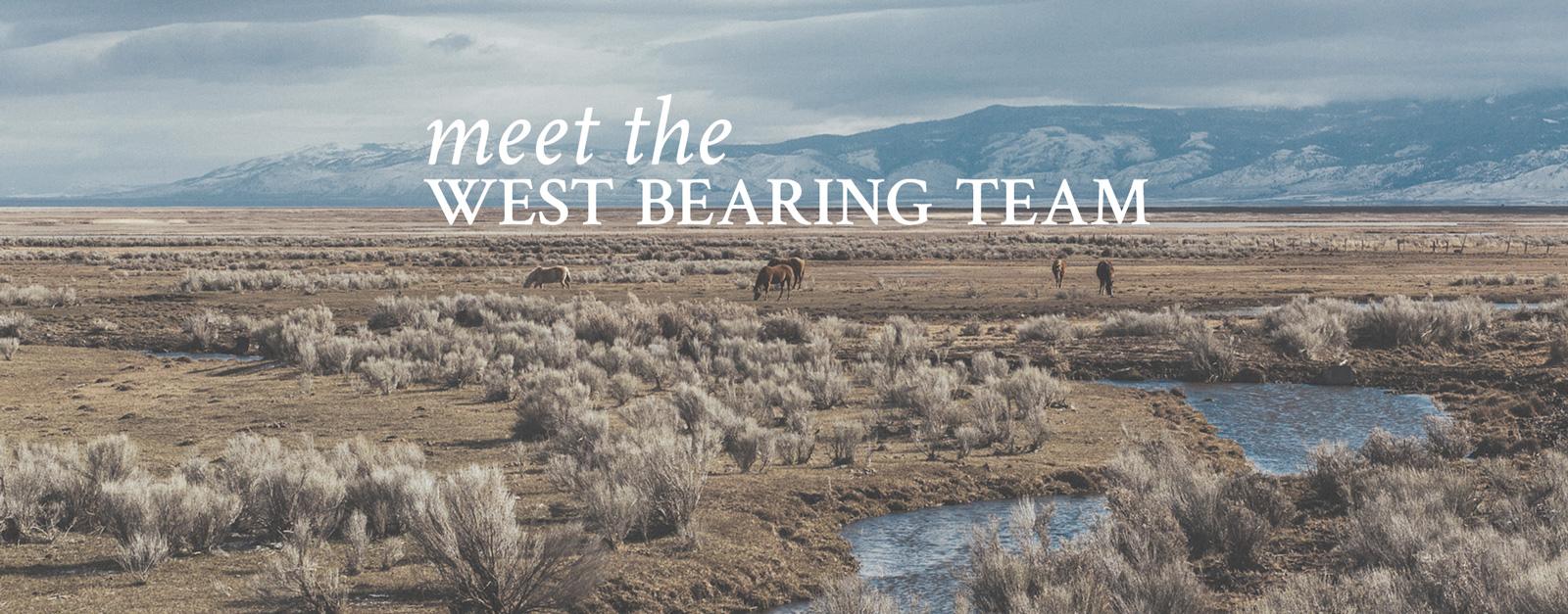 Meet the West Bearing Team