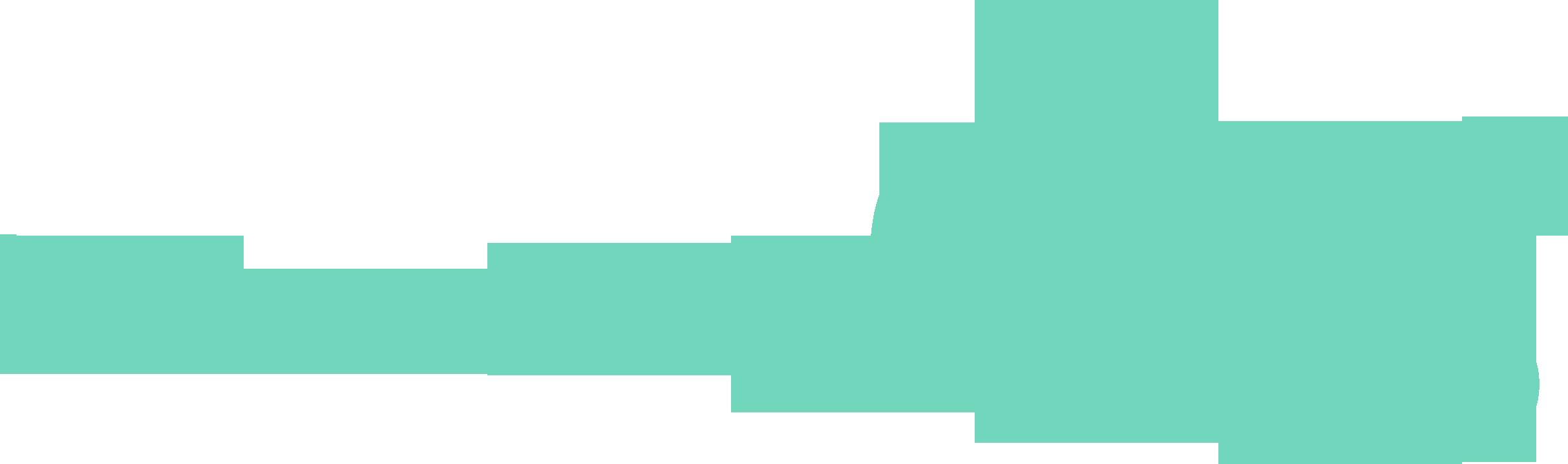 LowcountryDog.com Logo Teal